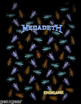 MEGADETH cd lgo ENDGAME FLIES Official Babydoll SHIRT XL New OOP end game