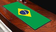 BRASILE BANDIERA COPPA DEL MONDO BRASILE BARRETTE CORRIDORE IDEALE PER CASA