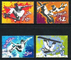 Australian 2006 Extreme Sports, set of 4, used