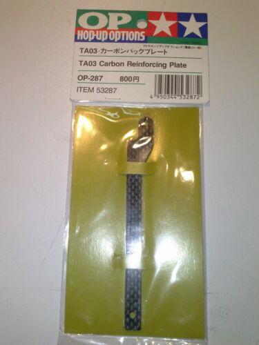 TAMIYA 53287 CARBON REINFORCING PLATE