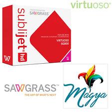 + 1 SubliTape 100 Sh SubliPaper HD Ink Set CMYK Sublimation Printer SG400