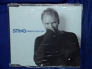 STING-Brand-New-Day-CD-Singolo-4-Tracks-NUOVO-SIGILLATO