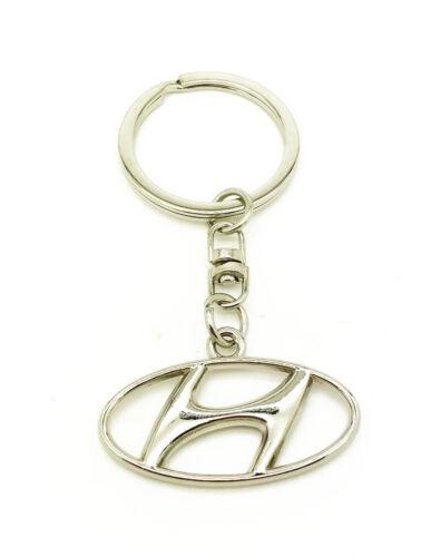 Logo Emblema 3D Llavero Cadena Fob Metal Cromado de regalo de Navidad se ajusta Hyundai dynasty