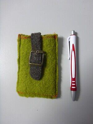 Filztasche Handy Handytasche Filz Grün Lassen Sie Unsere Waren In Die Welt Gehen
