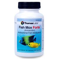 Fish Mox Forte 500 Mg 30 Ct Aquarium Treatment