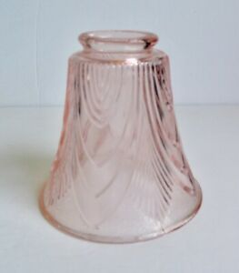 Vintage-Tulip-Glass-Shade-Pink-Art-Deco-Nouveau-Victorian-Goose-Neck-Table-Lamp