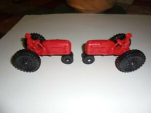 Image Is Loading 2 Scale Model Toys Kids Tractors Made In
