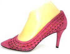 1d8dc6b9d9c7 item 3 Nine West Porcupine High Heels Size 7.5 Pink Suede Leather Heart  Laser Cut Pumps -Nine West Porcupine High Heels Size 7.5 Pink Suede Leather  Heart ...