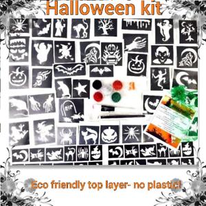 Kit-Para-Tatuar-40-Stencil-Halloween-Brillo-O-Recargas-Stencil-Brillo-Pegamento