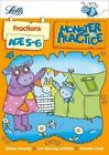 Letts Monster Practice: Fractions Age 5-6 by Letts Monster Practice (Paperback, 2014)