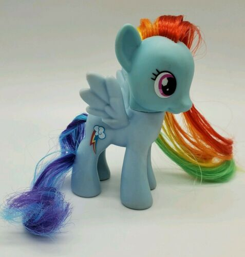 no tinsel, open eye,  Gem eye, Symbol on R My Little Pony G4 RAINBOW DASH 2013