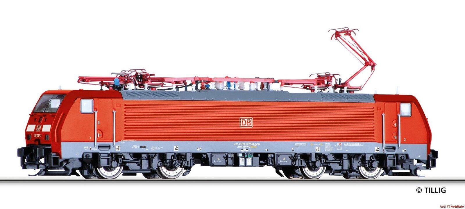 TT Elektro-Lok e189 062-3 DBAG EP. vi Tillig 02488 nuevo