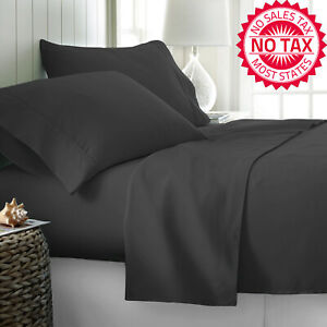 Image Is Loading 1000 Thread Count Best Bed Sheets 100 Egyptian