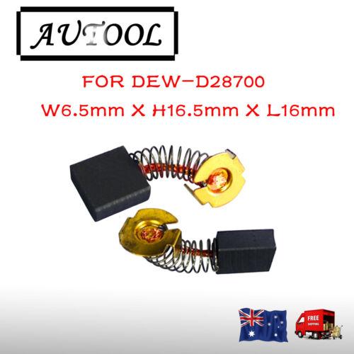 Carbon Brushes for Dewalt Chop Saw N039389 622437-00 DR871 D28715 GR870 OZ