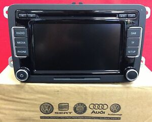Details about ** DAB ** Volkswagen VW RCD 510 DAB Digital Radio CD MP3  RCD510 310 300 + Code