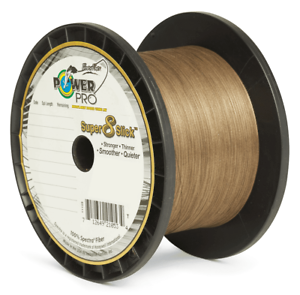 Timber Brown Power Pro Super8Slick 1500yd Braided Line