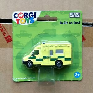 Corgi-Toys-1-64-Diecast-Ambulance-Model-Alloy-Rescue-Vehicle-Car-TY63114-Toys
