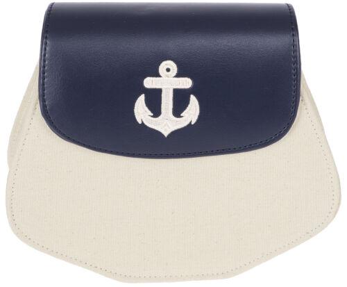 Küstenluder WANITA Vintage ANKER Anchor Sailor 50s Bag Umhängetasche Rockabill