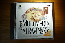 Microsoft Multimedia Stravinsky The Rite of Spring PC CD-ROM 1993