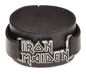 IRON-MAIDEN-Real-Leather-Wriststrap-Alchemy-Rocks-Official-Band-Merch-Brand-New