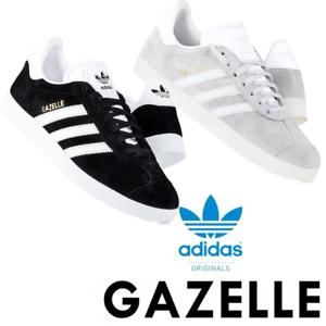 Dettagli su Adidas Originals Da Uomo Gazelle Scarpe da Ginnastica con Lacci in Pelle Scamosciata Casual Scarpe RRP £ 70 mostra il titolo originale