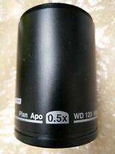 Nikon Plan Apo 05x Wd123 Smz800n1270n Objective Mnh54050