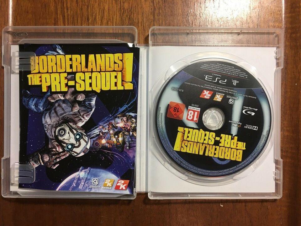 Borderlands The Pre-sequel, PS3