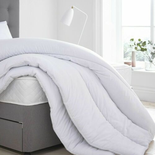 4.5-15 TOG MICROFIBRE DUVET LUXURIOUS 100/% SOFT SILKY QUILT FEELS LIKE DOWN