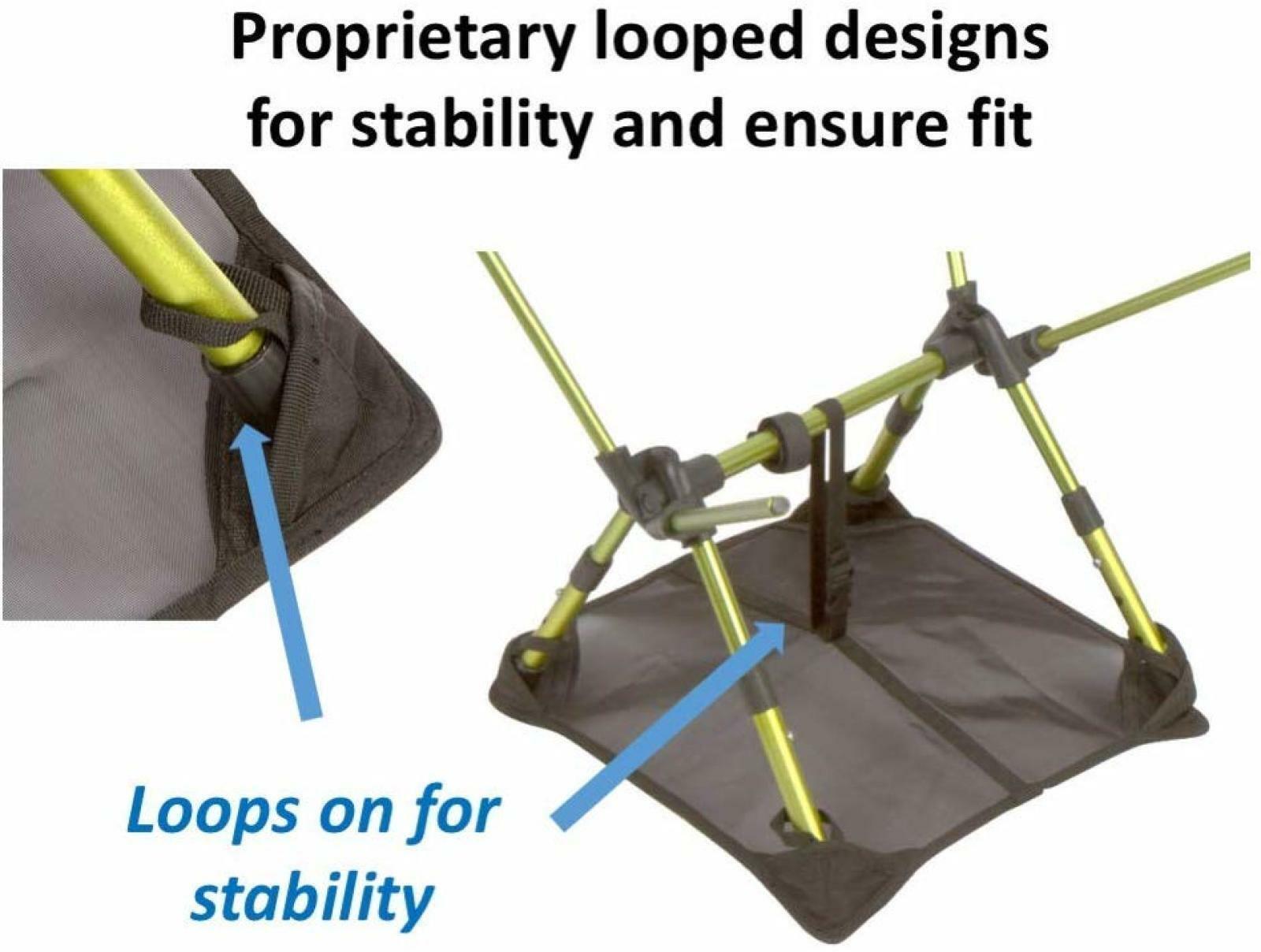 Ground Sheet for Portable Camping Chair Beach Mat Trekology YIZI Sand Cover