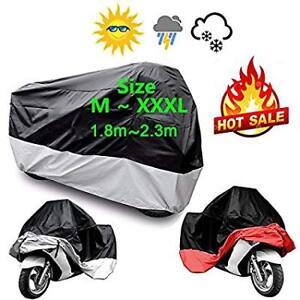 Motorcycle-Cover-Outdoor-UV-Protector-Waterproof-Rain-Dustproof-Cover-xxl-red