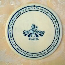 2002 Seneca USA Ceramics Heartland Great Harvest Bread Co  BUN & BREAD WARMER