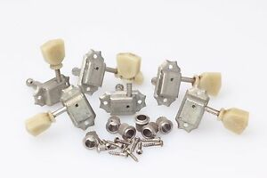 """Kluson® Double Line//Single Ring Tuners Nickel aged fits Gibson® /""""Art of Aging/"""""""