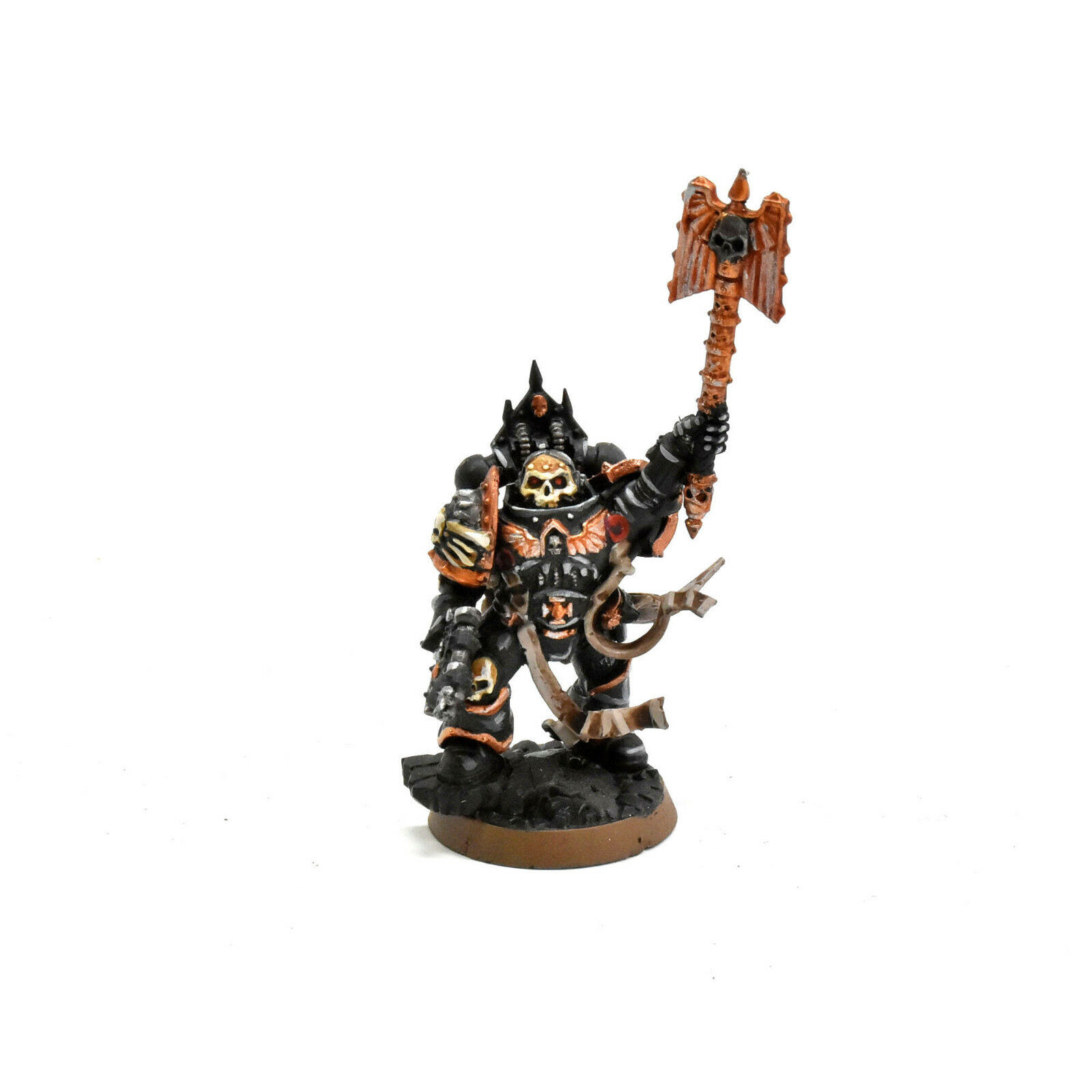 SPACE MARINES Chaplain reclusion command WELL PAINTED Warhammer 40K