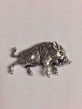 Wild Boar 3 Z68 Pewter Fridge / office desk  Magnet memo magnet fancy