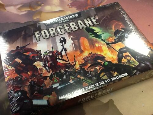40K Warhammer Forgebane Adeptus Mechanicus Necrons Sealed
