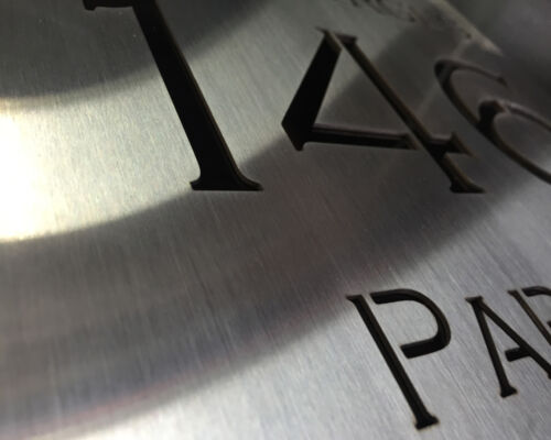 Mail Box Letter Box Laser Cut STAINLESS STEEL Custom Made PLAQUE 450mm x 450mm