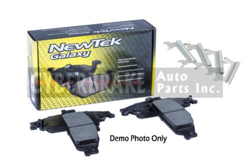 FRONT Ceramic Brake Pads Fits 01-07 Dodge CaravanW//Hardware Kit