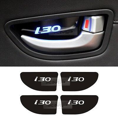 Promotion LED Door Inner Catch Plate Blue for HYUNDAI 2013 - 2016 Elantra GT i30