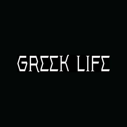 GREEK LIFE Sticker Vinyl Decal Cool Funny Car Truck Window Wall Decor Wedding
