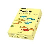 2500 Blatt Kopierpapier Rainbow A4 80g hellgelb pastell farbiges Papier