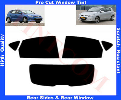Pre Cut Window Tint Hyundai I30 5D  2007-2011 Rear Window & Rear Sides Any Shade