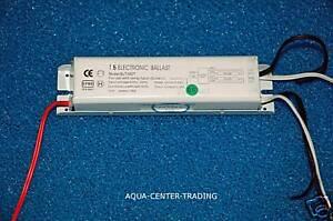 Eclairage, galeries ballast electro T5 1 x 80 w aquarium  eclairage neon rampe tube