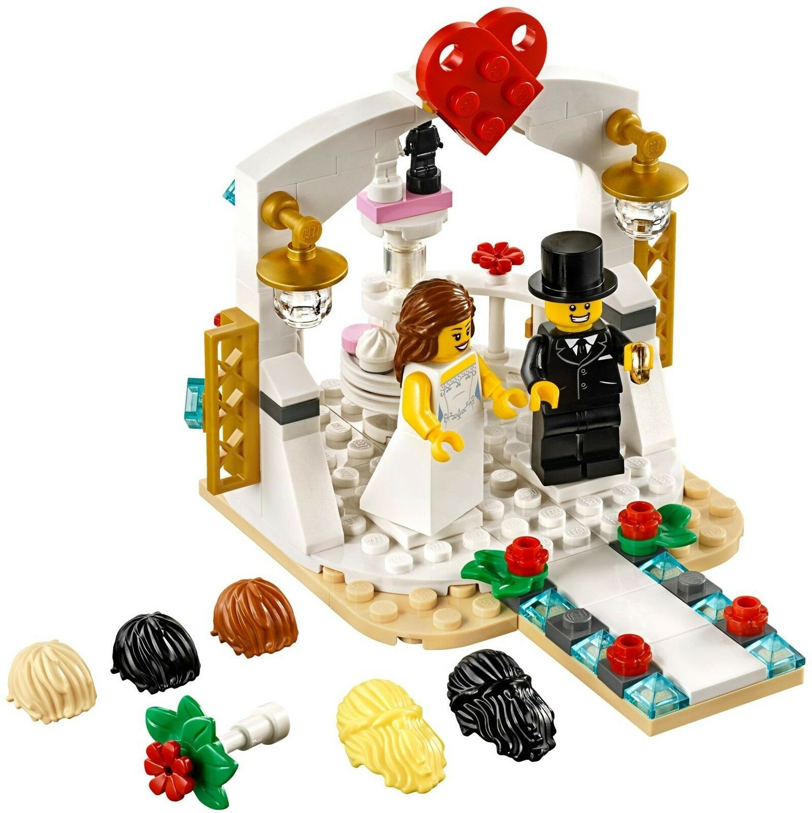 LEGO® Classic 40197 Minifiguren-Hochzeits-Set 2018 NEU Wedding Favor Set 2018 2018 2018 188980