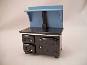 Kitchen-Cook-Stove-dollhouse-miniature-D5891-1-12-scale-painted-wood