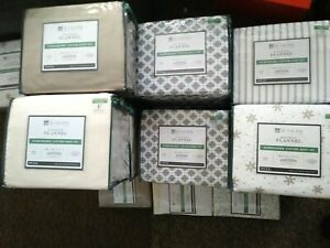 Seasons-Collection-Heavyweight-Flannel-Twin-Full-Sheet-Set-Pillowcases-ETC