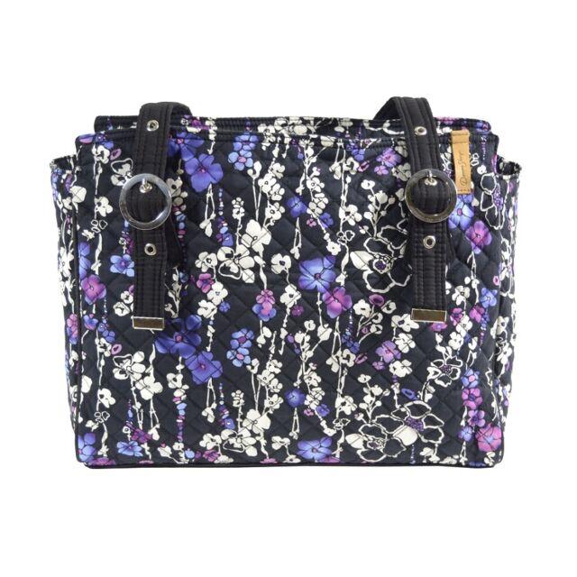 SALE! Donna Sharp Pauline Handbag//Crossbody Bag in Hazel Patch Pattern