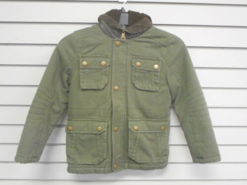 Boys Urban Republic Assorted Style Green Hooded Coats Sizes 5//6 /& 10//12