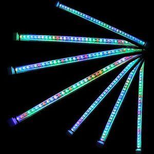 Color Changing LED Submersible Light Underwater Strip Bar Lamp Aquarium Fish