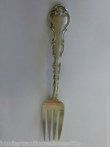 Vintage Strasbourg Serving Fork 8.5'' By Gorham