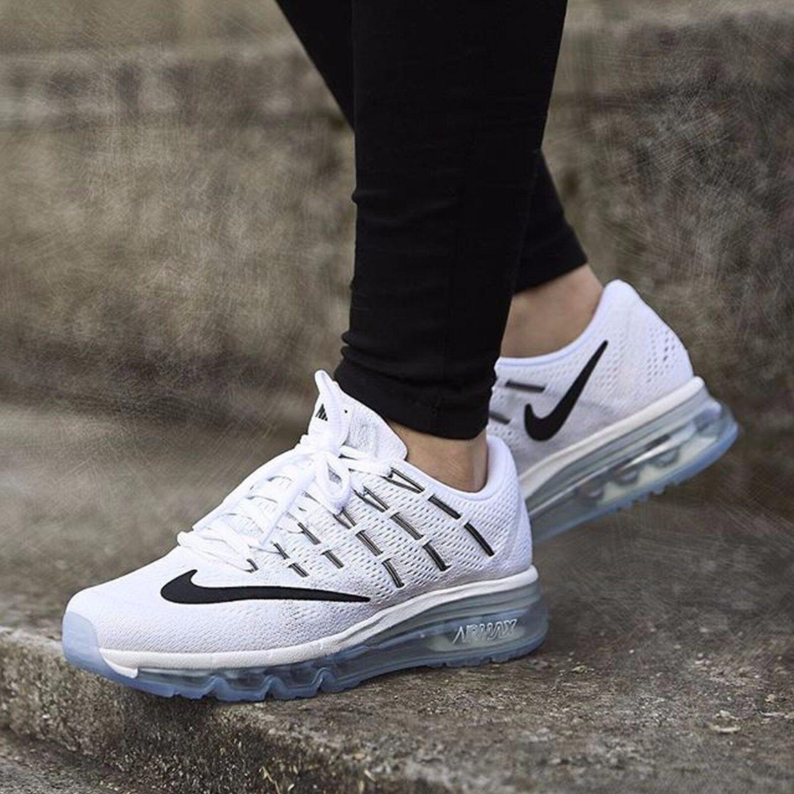 Nike Air Max 2016 Summit White Black-White 806772-100 Wmn Sz 10